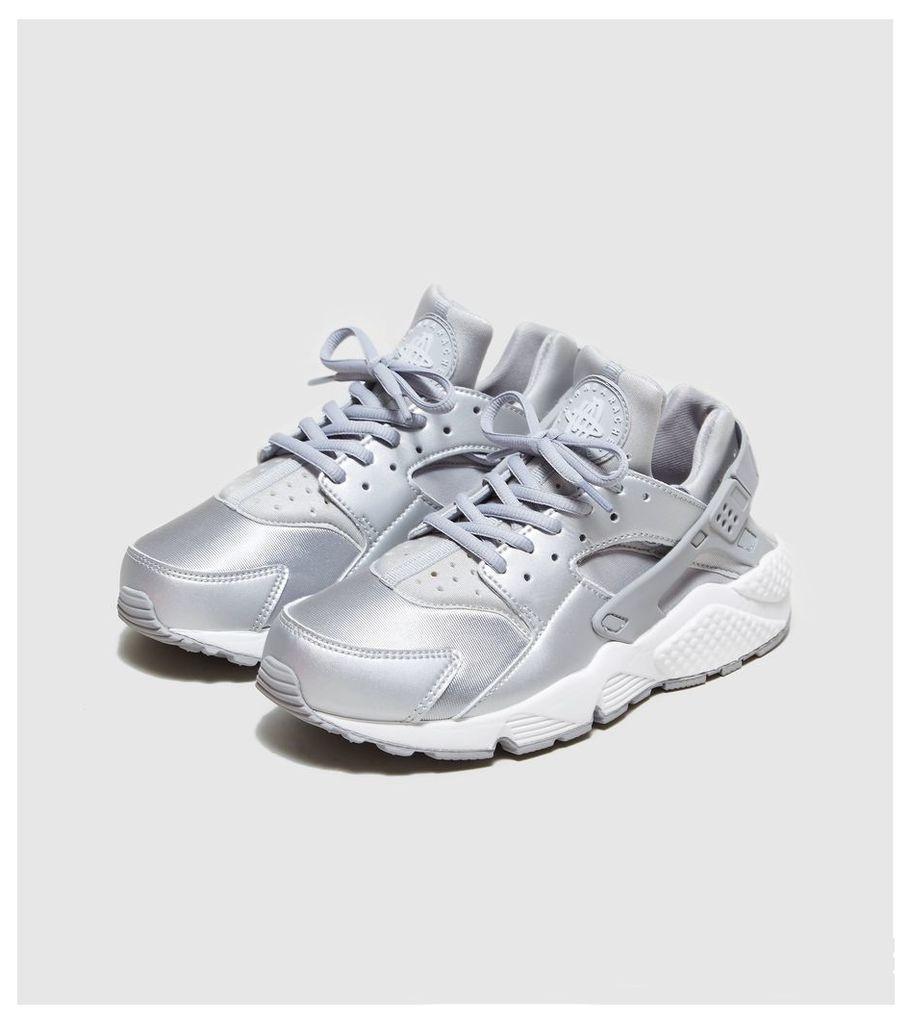 Nike Air Huarache Women's, Metallic Silver