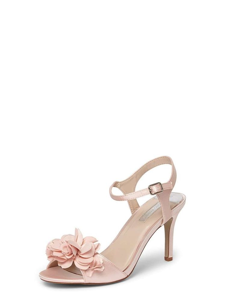Womens Blush 'Special' Corsage Sandals- Pink