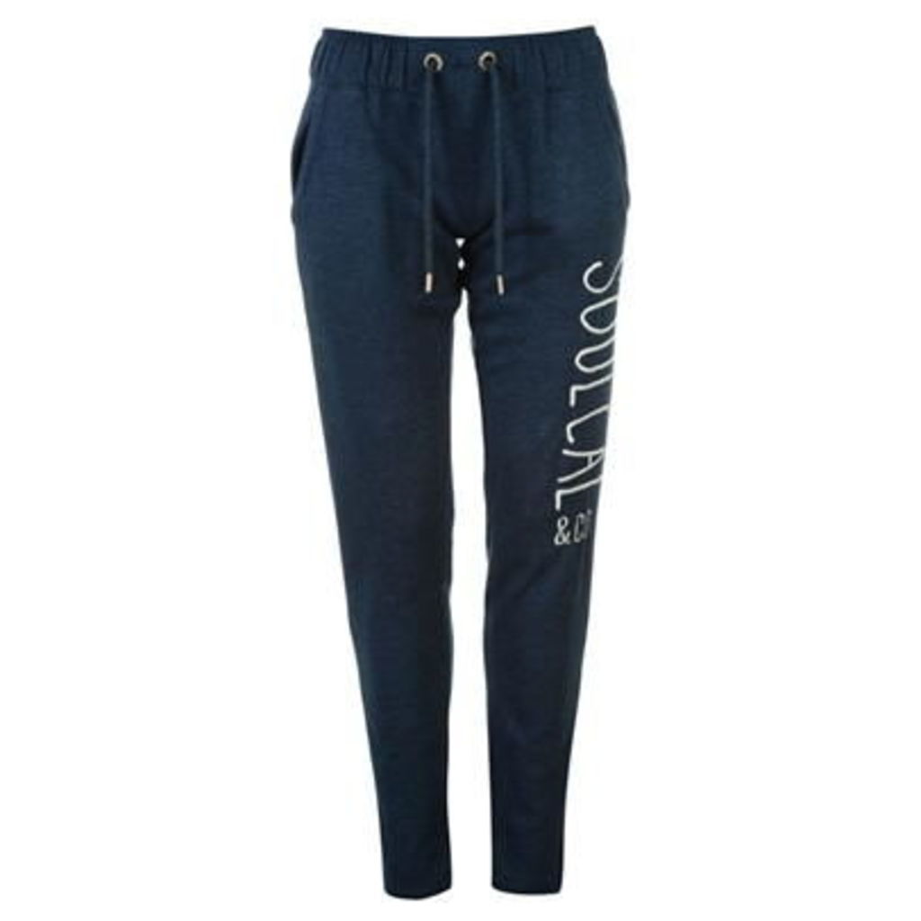 SoulCal Cal Large Logo Jogging Bottoms Womens