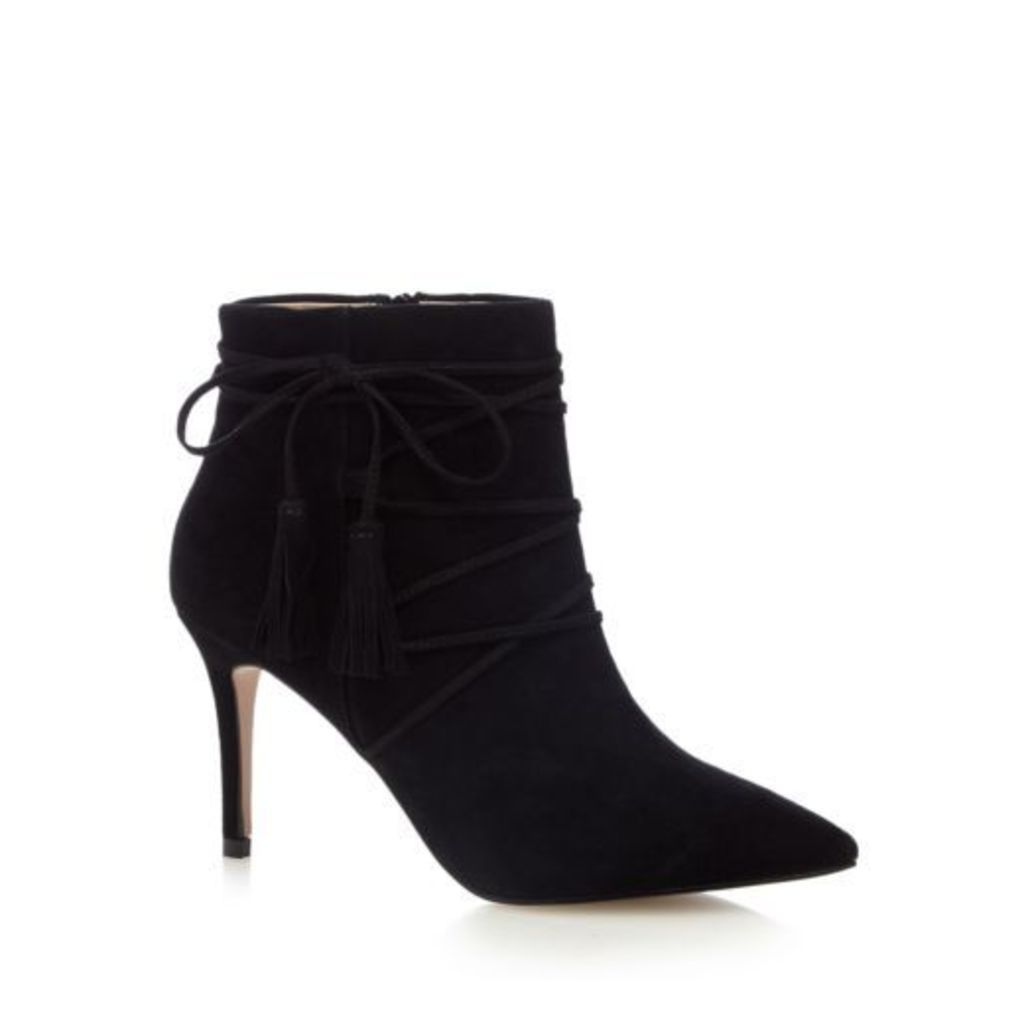 J By Jasper Conran Womens Black Suede Ankle Boots From Debenhams 8