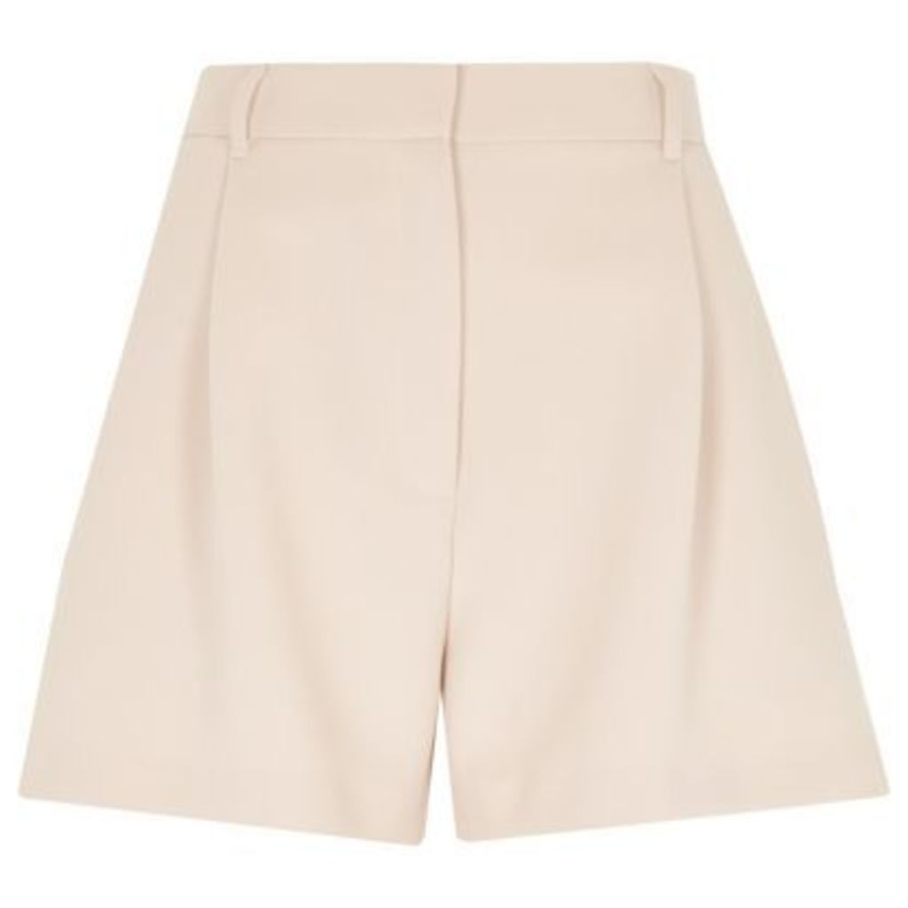 River Island Womens Light Pink smart high waisted shorts