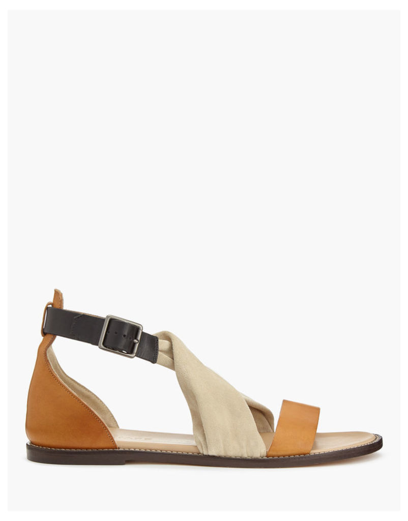 Belstaff Tallon Sandals Cream