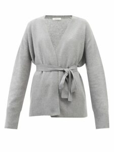 Hillier Bartley - Balloon-sleeve Silk-blend And Faux-leather Top - Womens - Blue