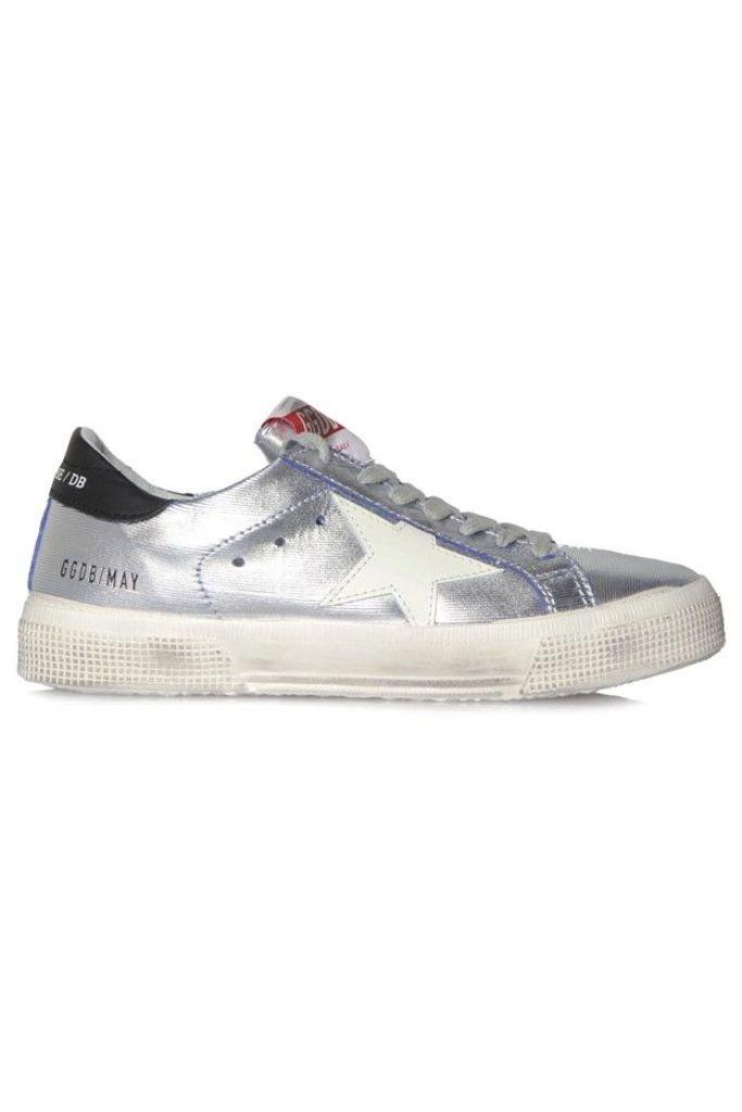 Sneakers May Bluette Silver Cut