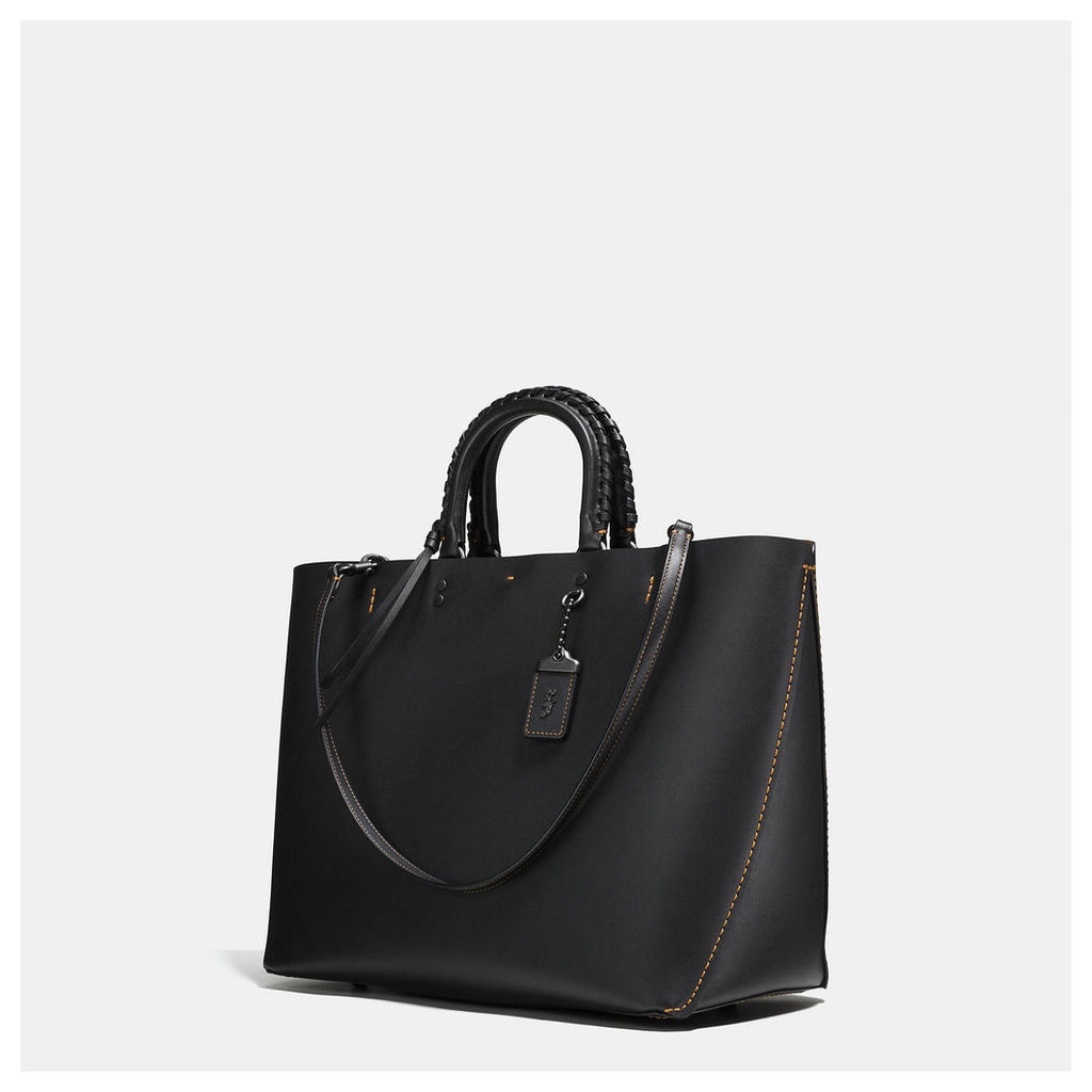Coach Rogue Tote With Embellished Handle