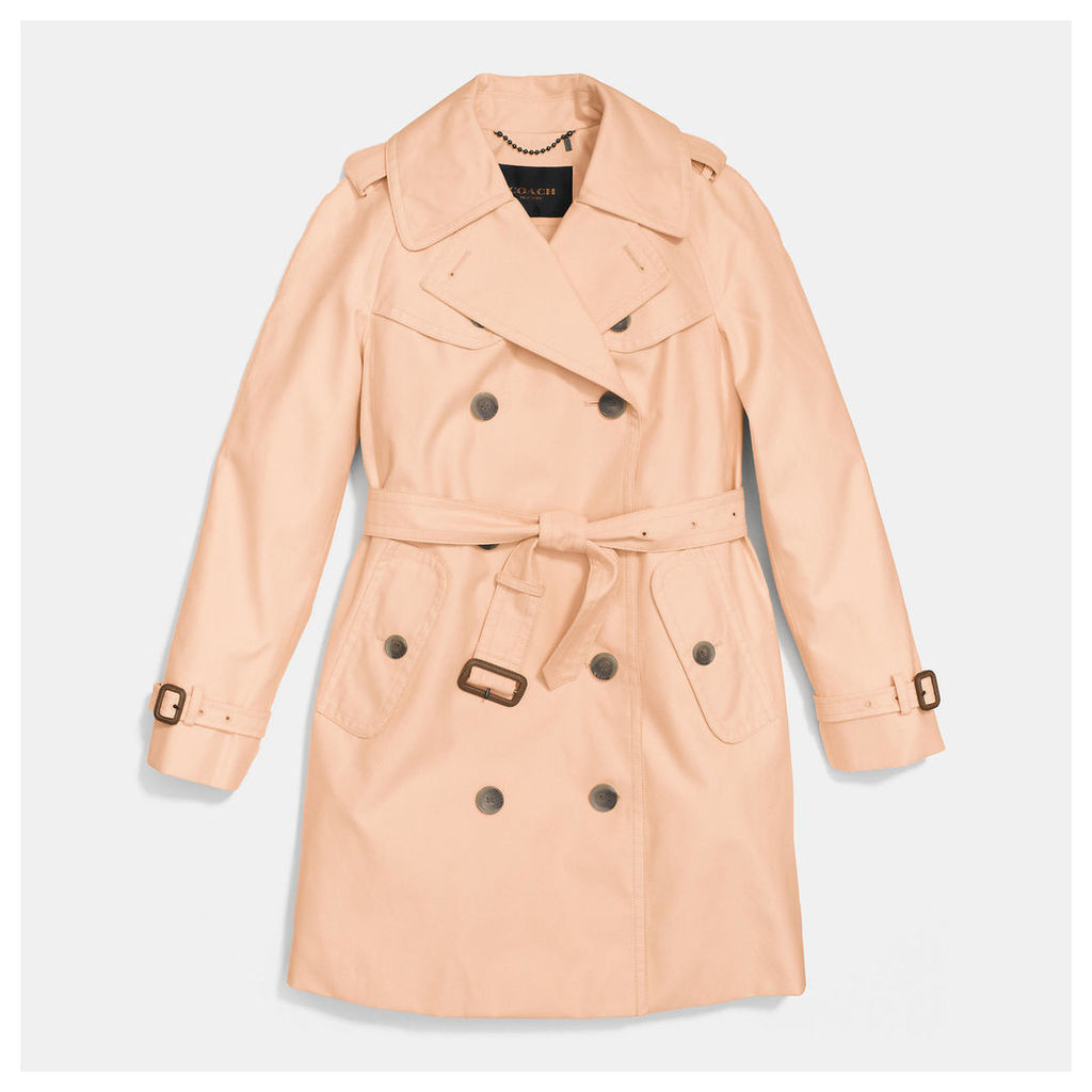 Coach Mid-Length Trench