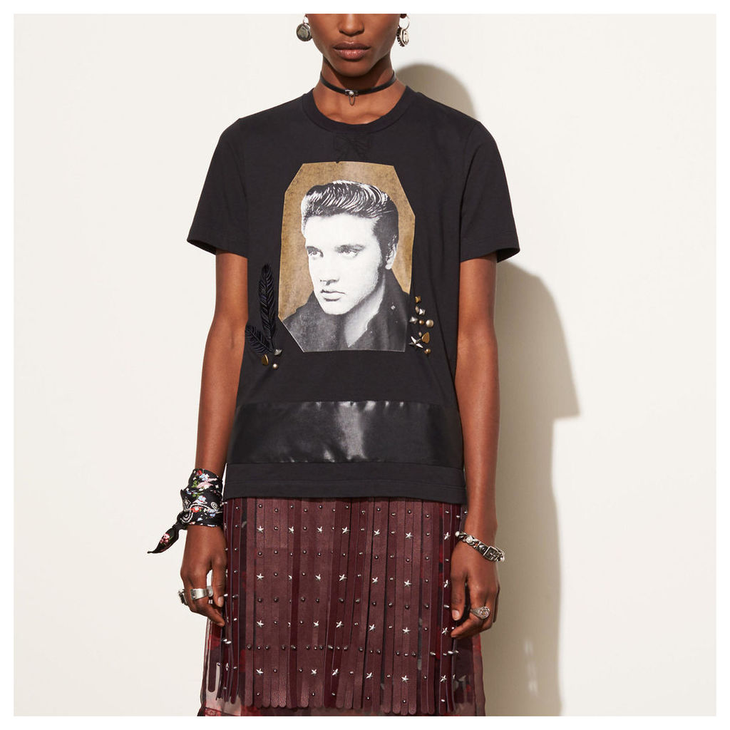 Coach Elvis T-shirt With Bow