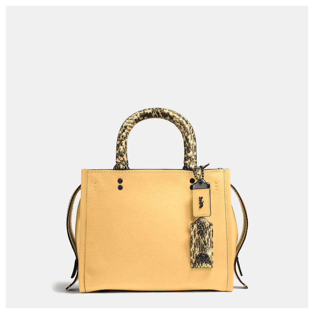 Coach Rogue Bag 25 In Colorblock Snake