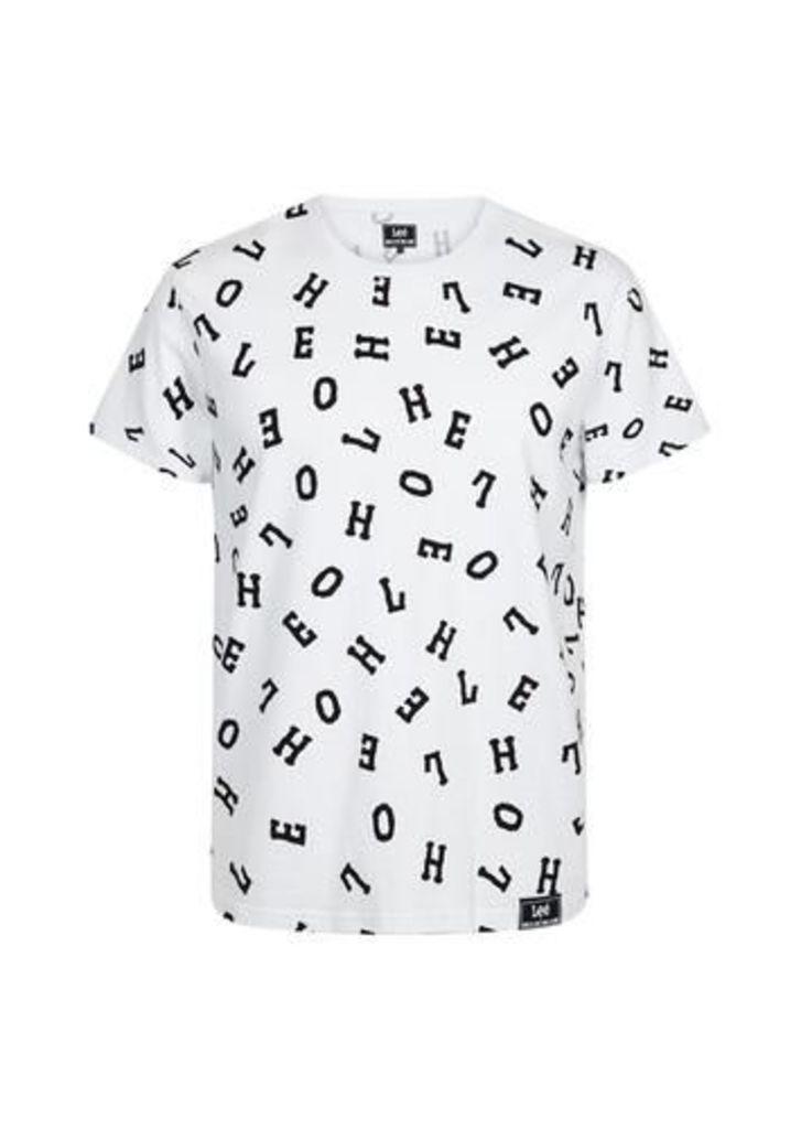 Lettering T-Shirt (White)