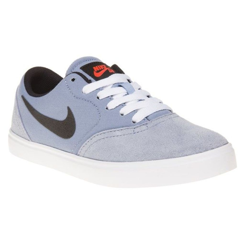 Nike Sb Check Trainers, Blue Grey/White