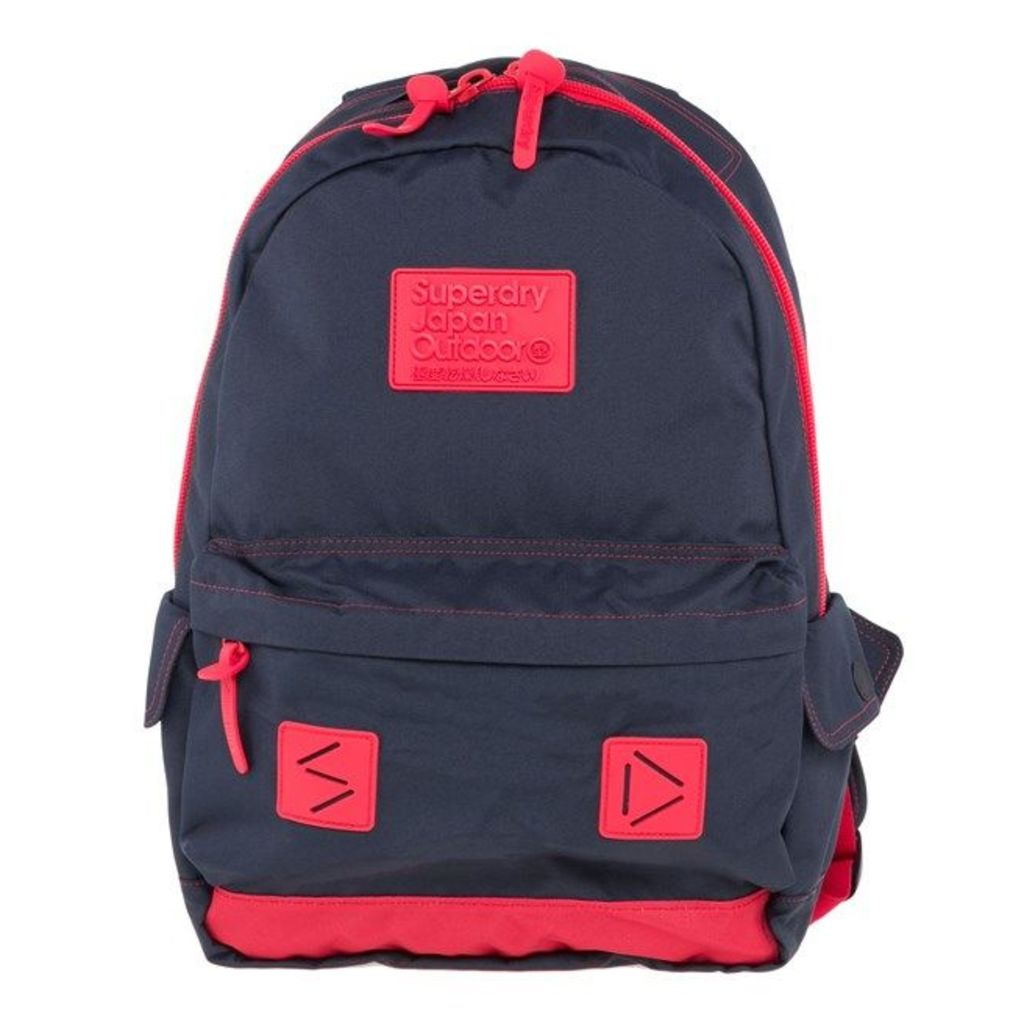 Superdry Silicon Montana, Dark Navy Red