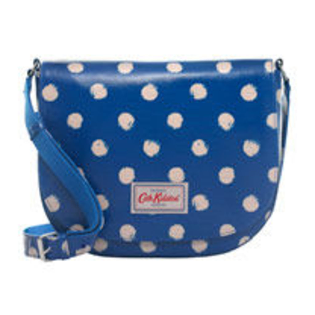 Smudge Spot Large Curved Saddle Bag