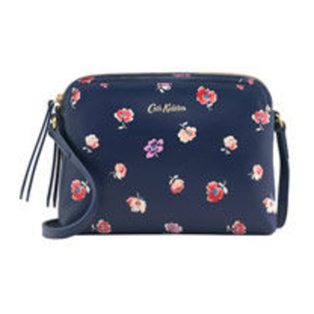 Mallory Sprig Printed Leather Duo Cross Body