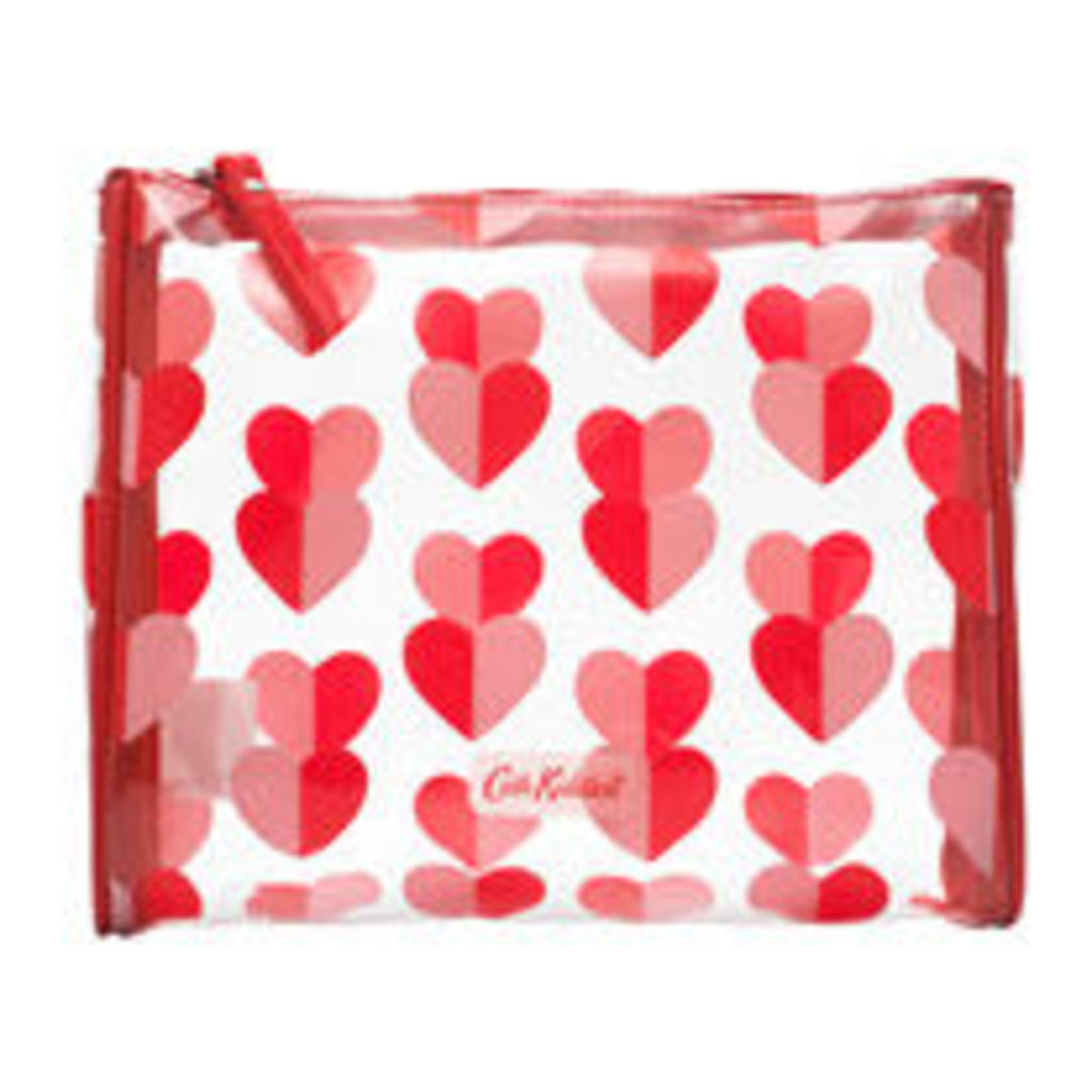 Mono Hearts Piped Make Up Bag