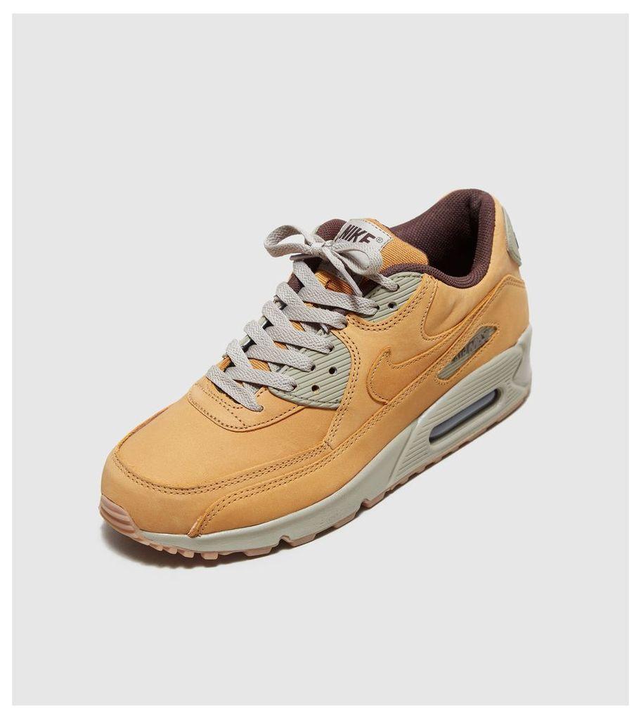 Nike Air Max 90 Women's, Yellow/Brown