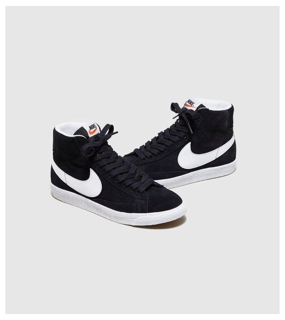 Nike Blazer Mid Suede Women's, Black