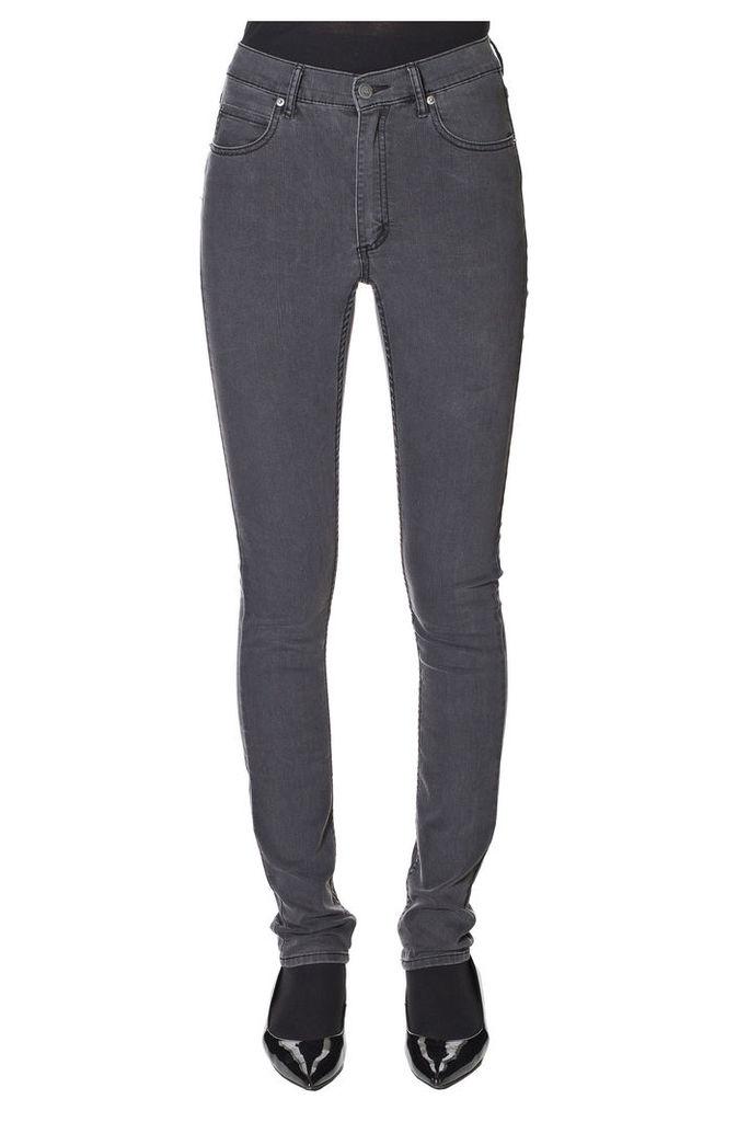 Second Skin Stonewash Black Jeans