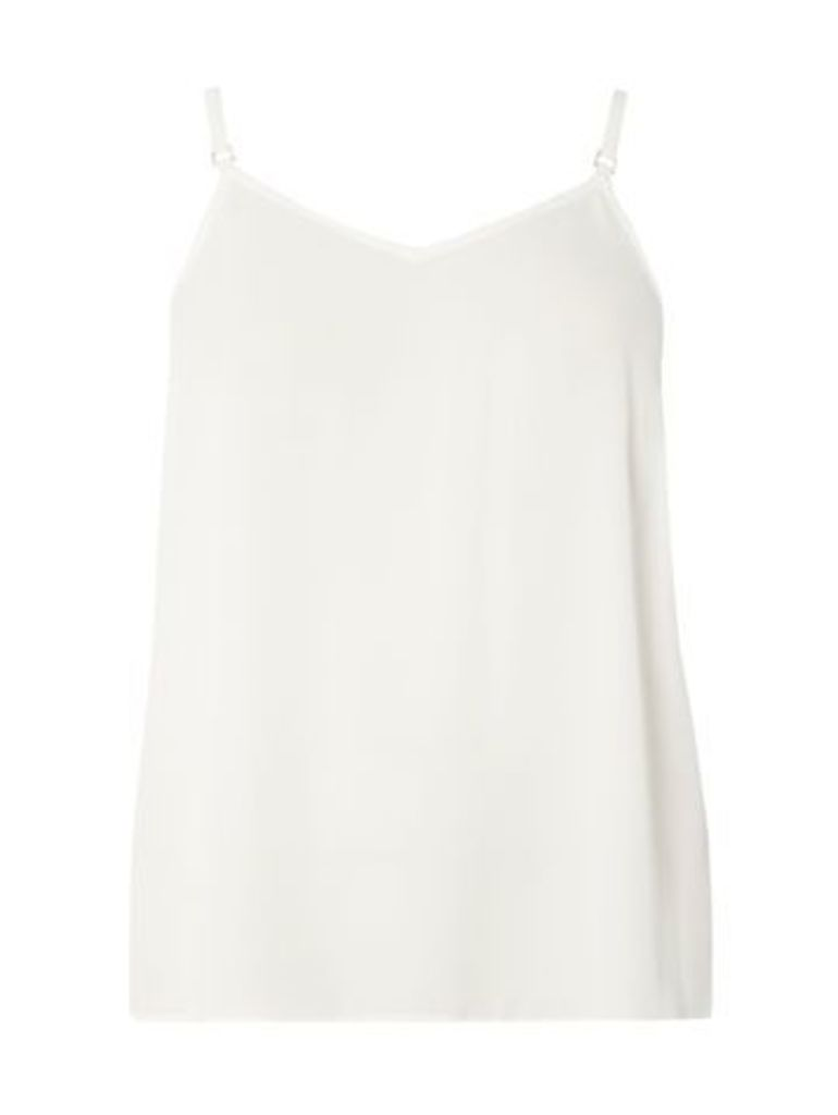 Ivory Strappy Camisole Top, Ivory