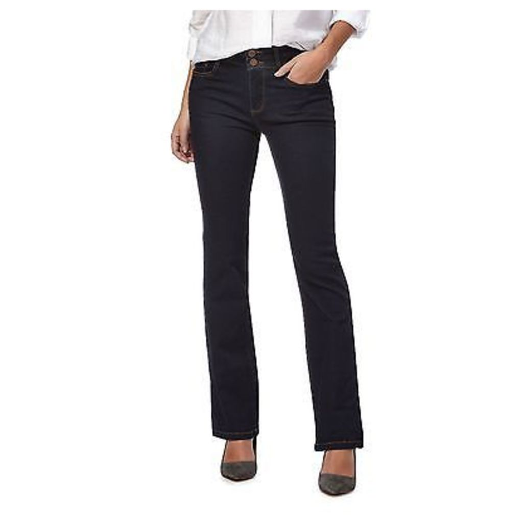 J By Jasper Conran Petite Womens Blue Boot Cut Petite Jeans From Debenhams