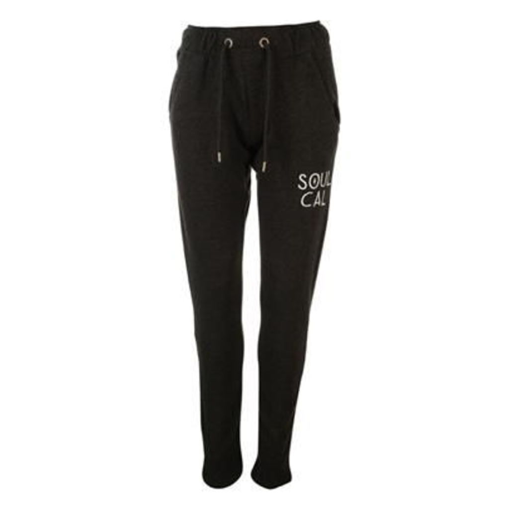 SoulCal Embroidered Joggers Ladies