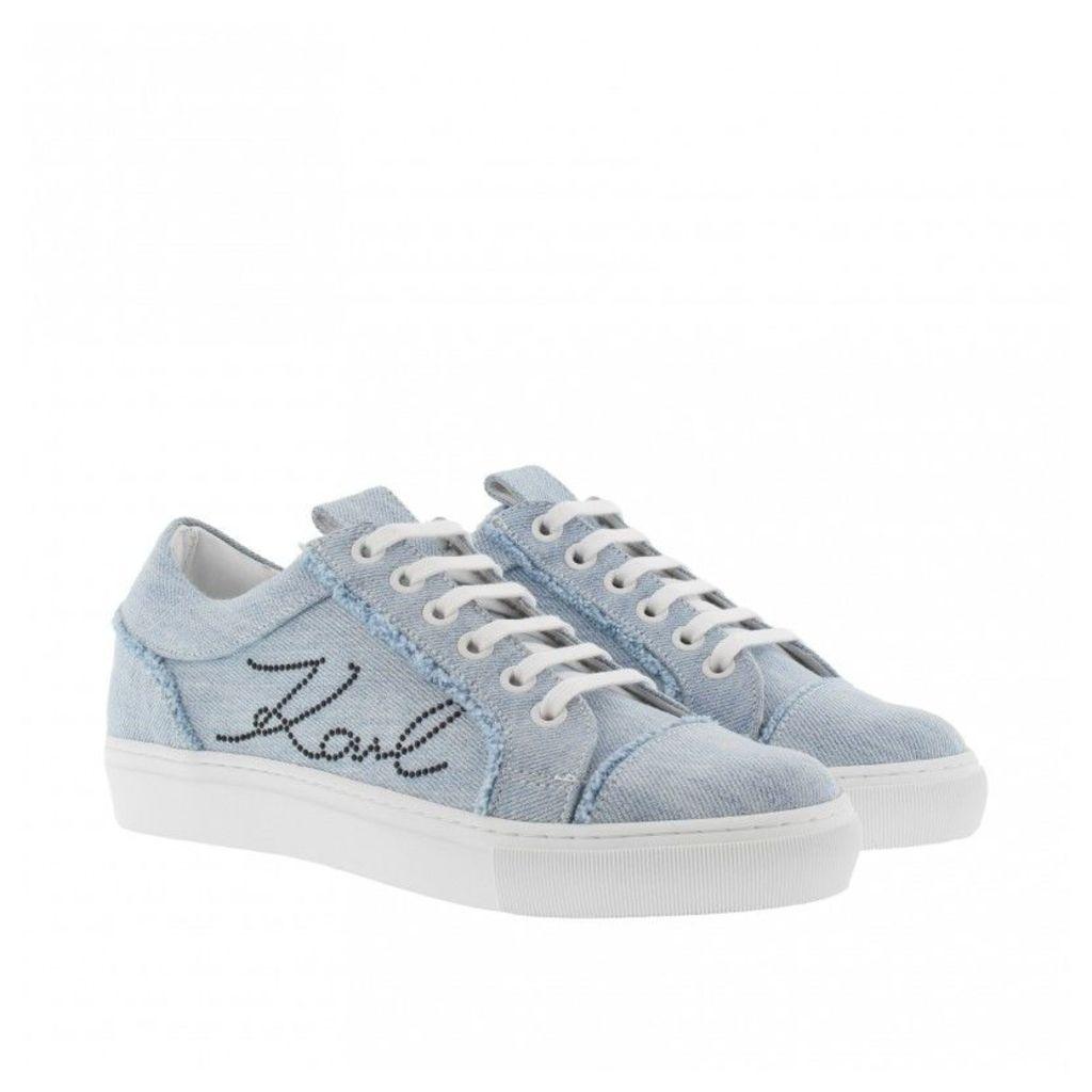Karl Lagerfeld Sneakers - K/Denim Sneaker Denim - in blue - Sneakers for ladies