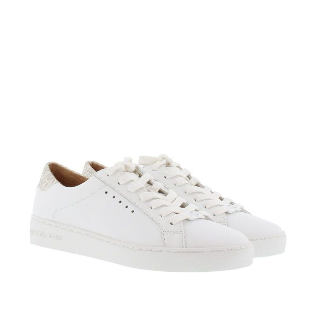 Michael Kors Sneakers - Irving Lace Up Sneaker Optic White/ Vanilla - in white - Sneakers for ladies
