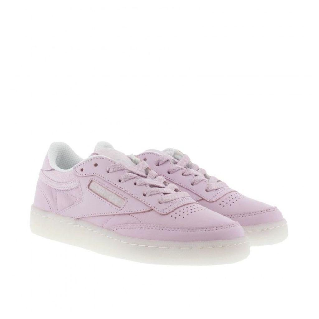 Reebok Sneakers - Club C 85 On The Court Sneaker Purple / White / Grey - in rose - Sneakers for ladies