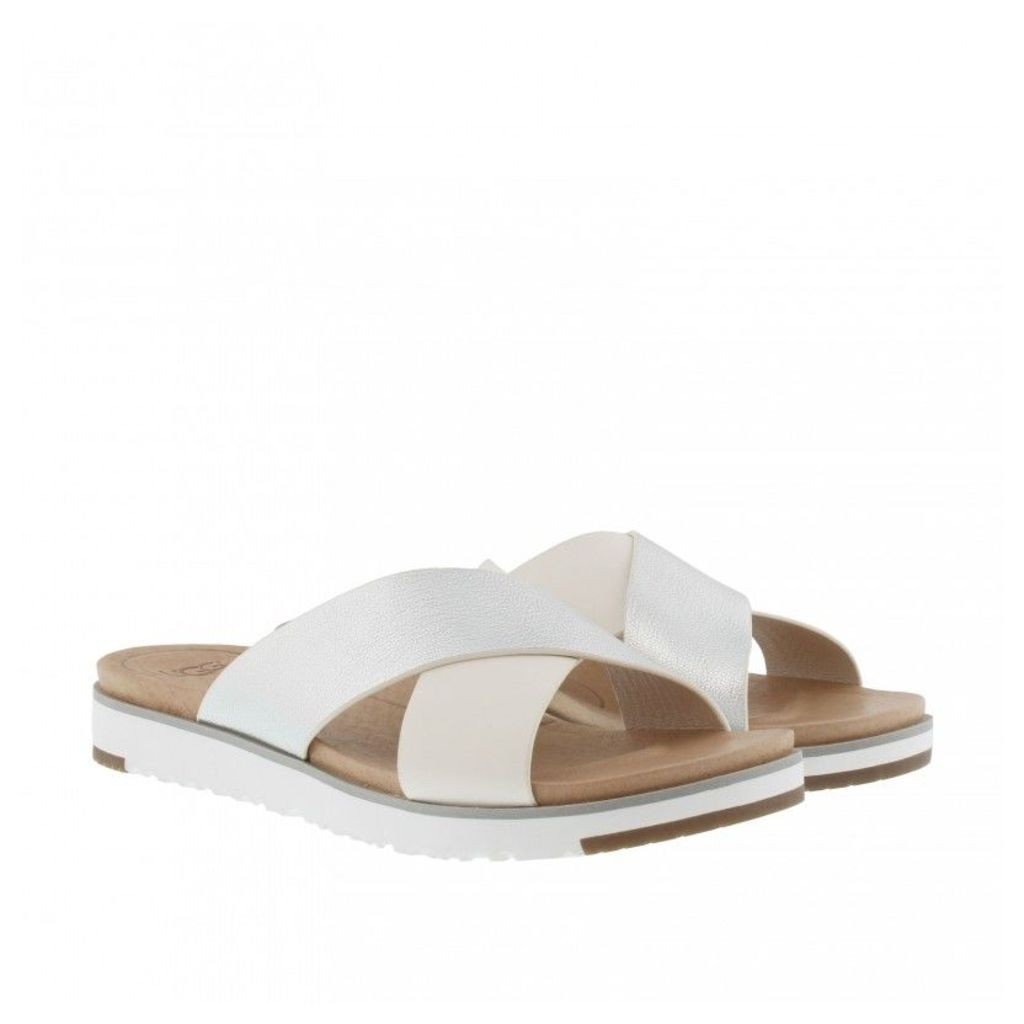 UGG Sandals - Kari Sandals Silver - in white - Sandals for ladies