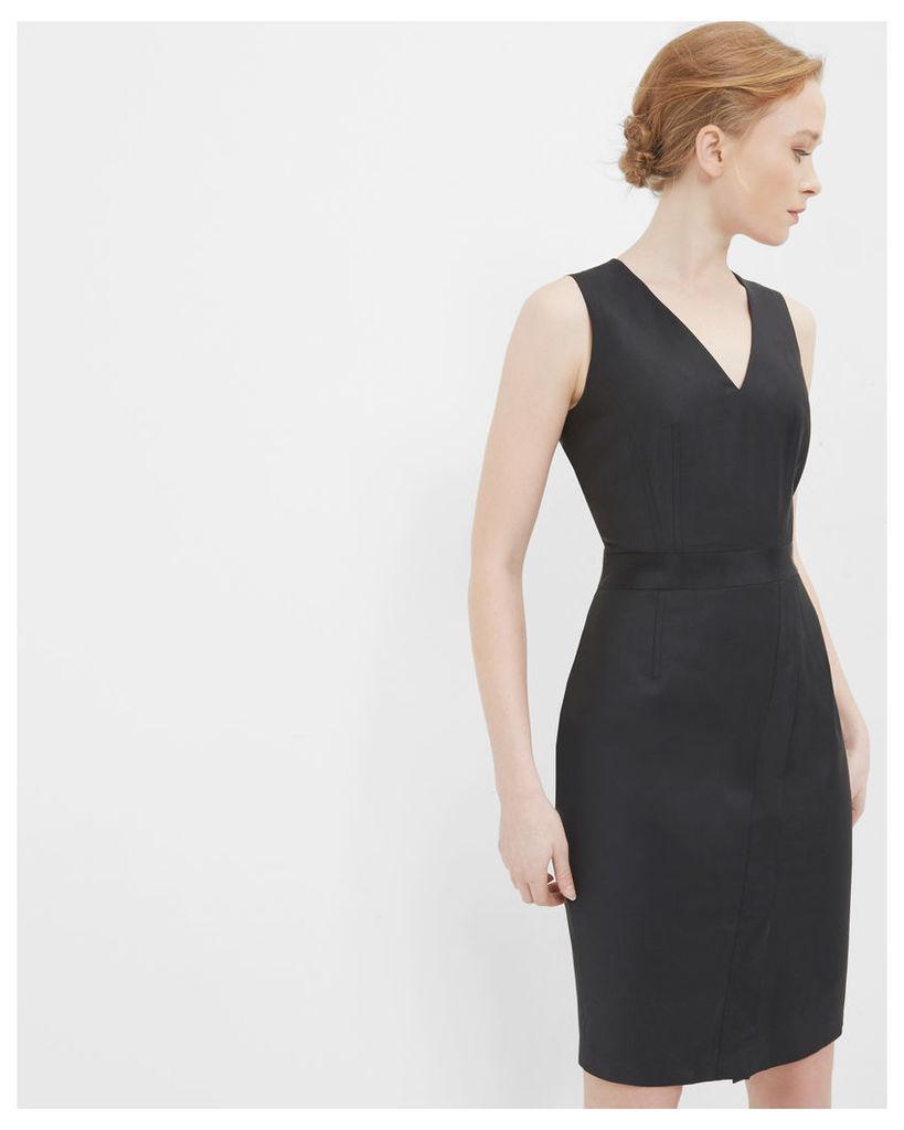 Ted Baker Ottoman pencil dress Black