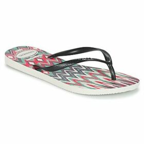 Havaianas  SLIM TRIBAL  women's Flip flops / Sandals (Shoes) in Black