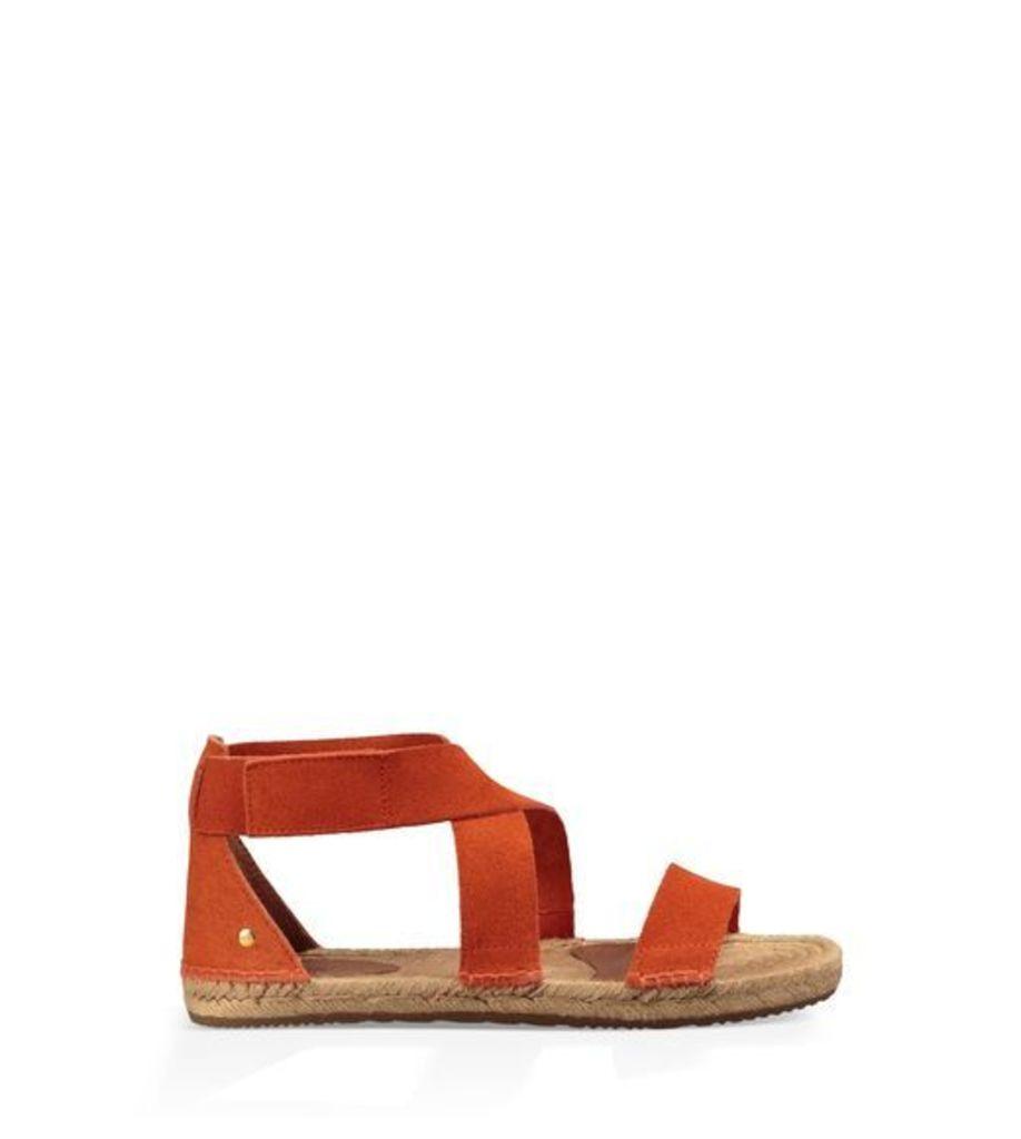 UGG Mila Womens Sandals Fire Opal 10