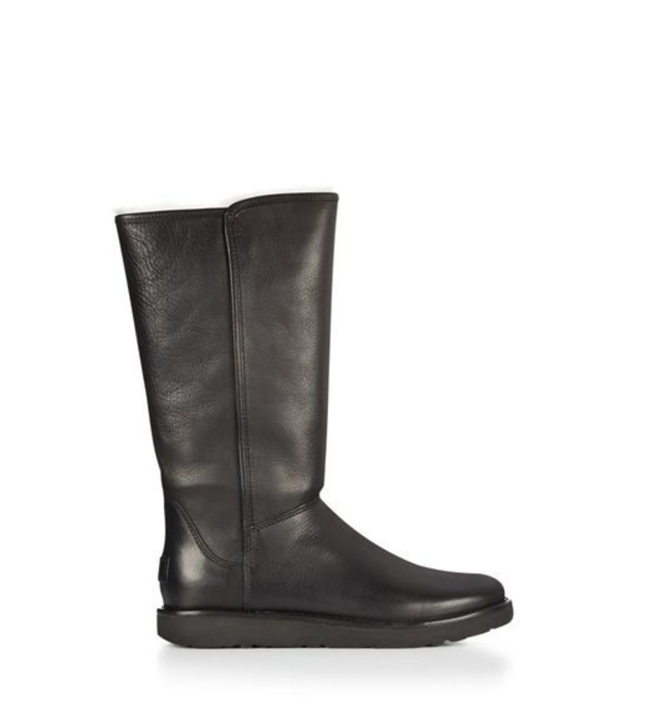 UGG Abree Ii Leather Womens Classic Boots Nero 8