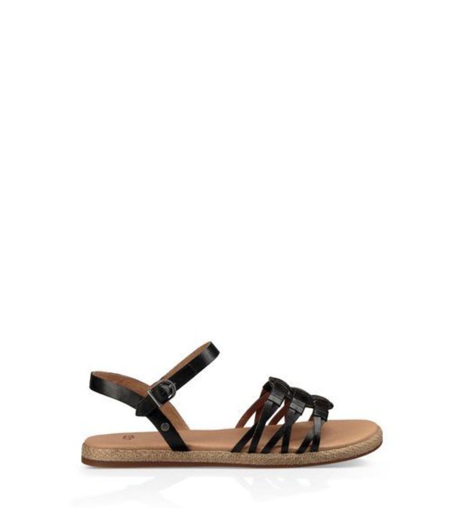 UGG Larisa Womens Sandals Black 8