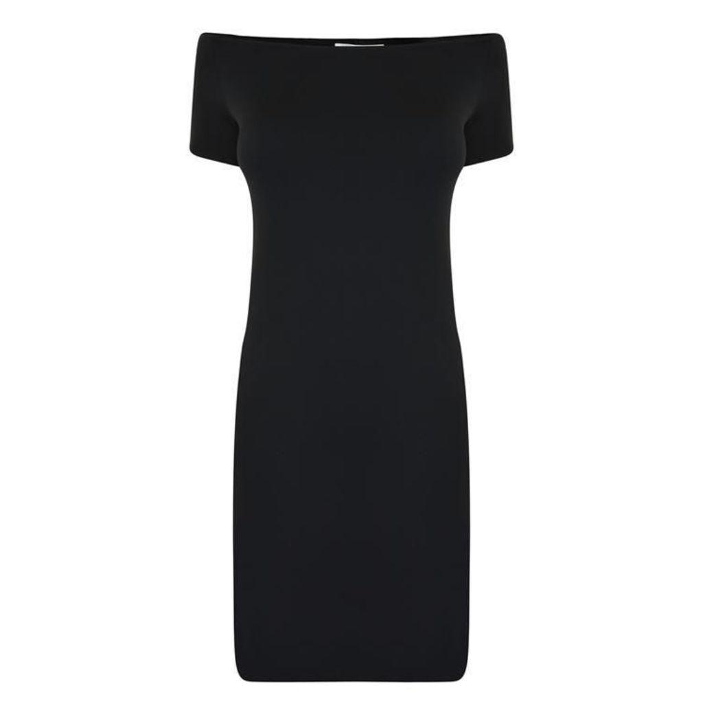 HELMUT LANG Off The Shoulder Mini Dress