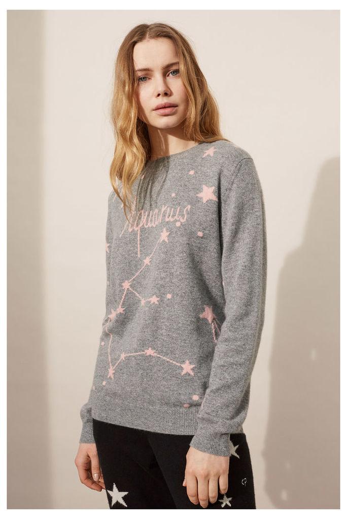 NEW EXCLUSIVE Aquarius Cashmere Sweater