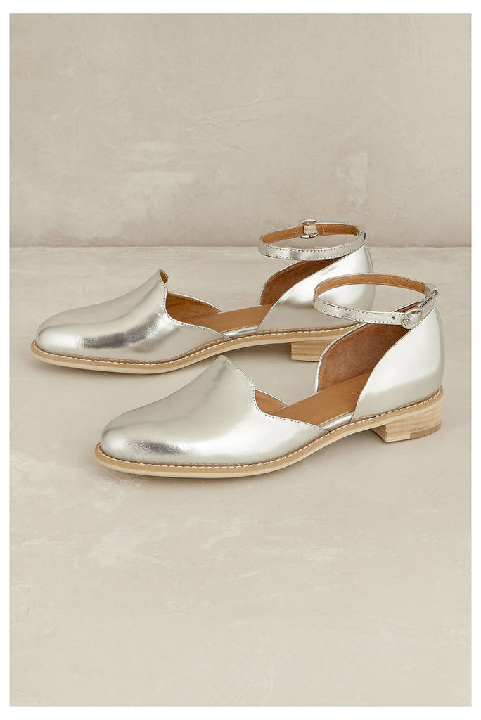 Madelyn Ankle-Strap Flats