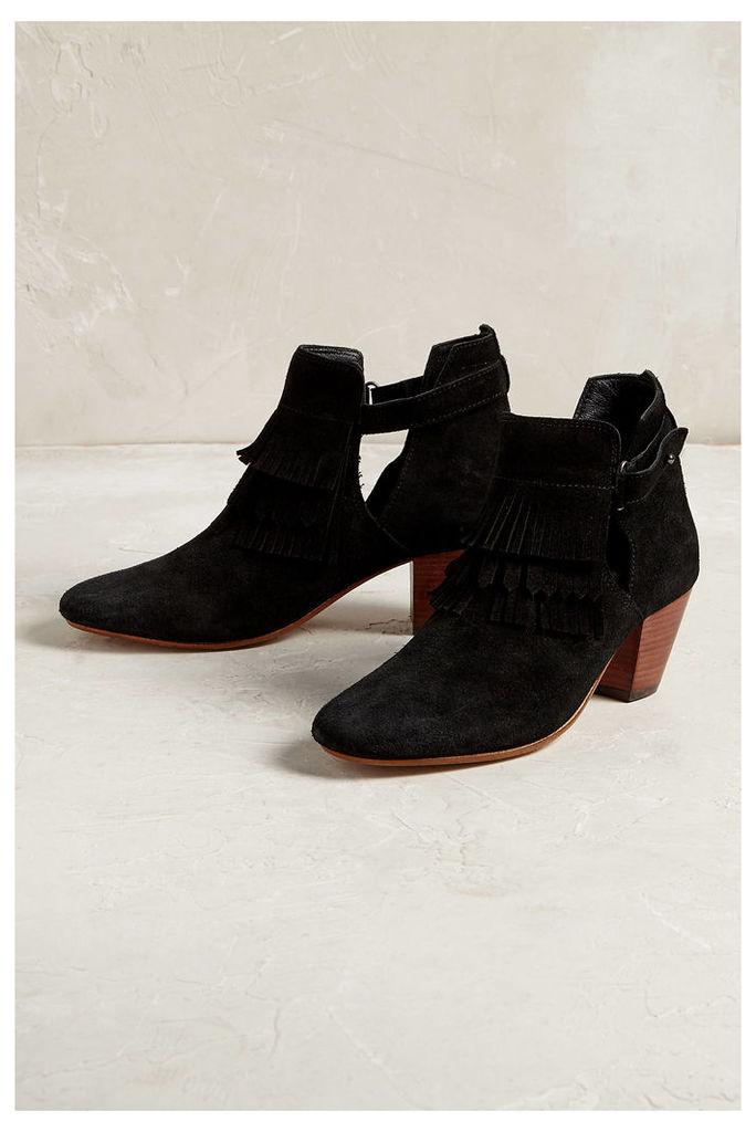 Neeka Fringe Ankle Boots