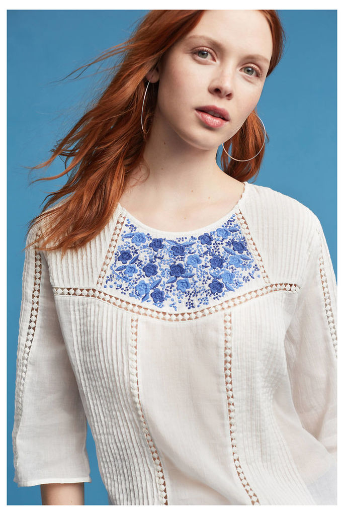 Edie Embroidered Blouse