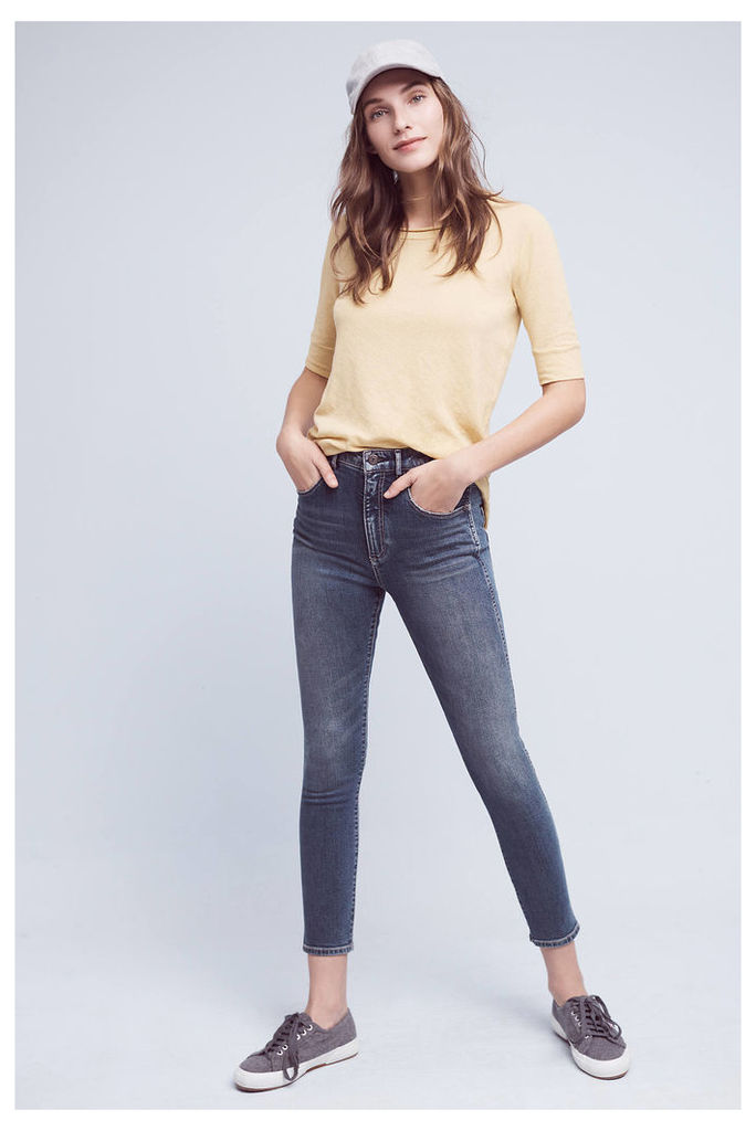 Pilcro Ultra High-Rise Straight Ankle Jeans