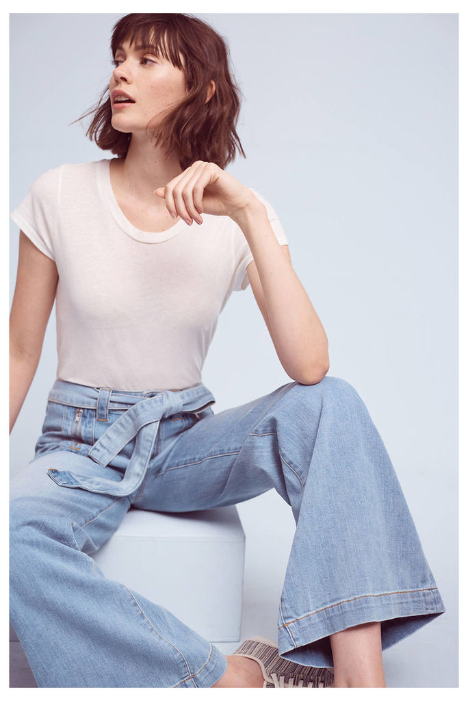 Pilcro Palazzo Ultra-High Rise Jeans