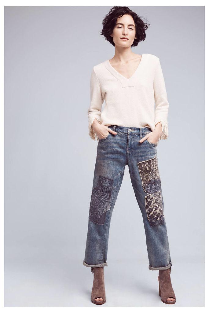 Pilcro Mid-Rise Boyfriend Jeans