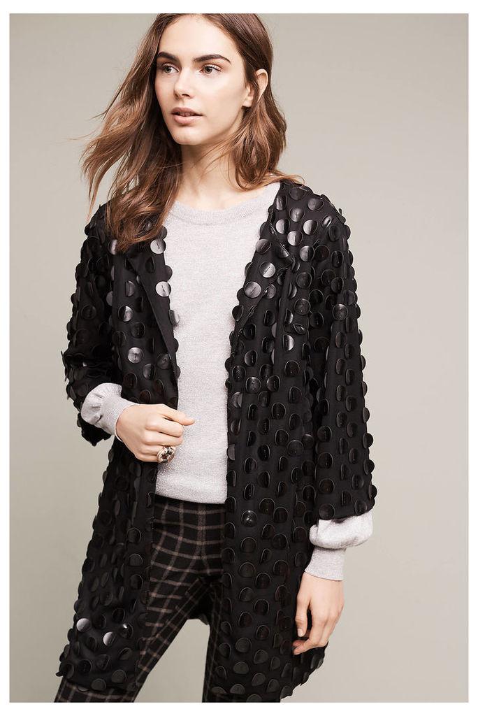 Lauria Longline Coat, Black