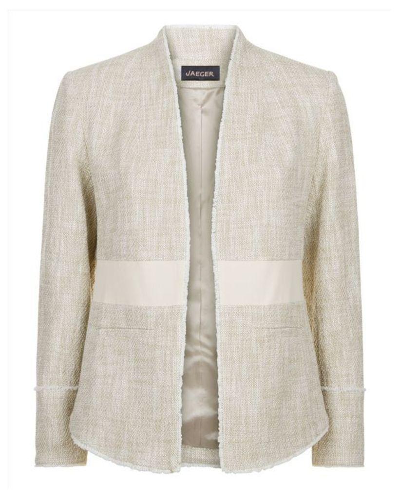 Cotton Tweed Tailored Jacket