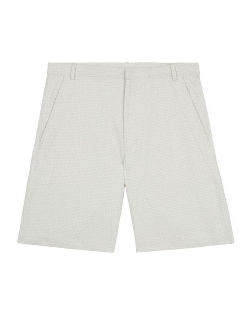 Lou Dalton Textured Shorts