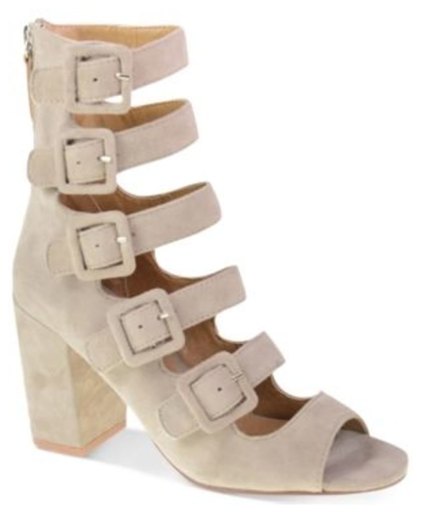 Chinese Laundry Twilight Buckled Block-Heel Sandals Women's Shoes