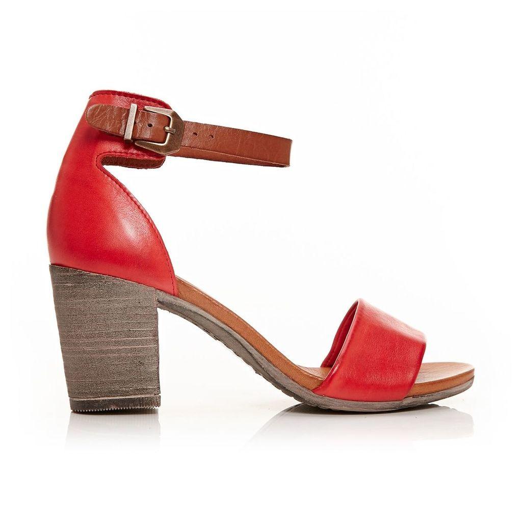 Moda in Pelle Loella Coral High Casual Sandals