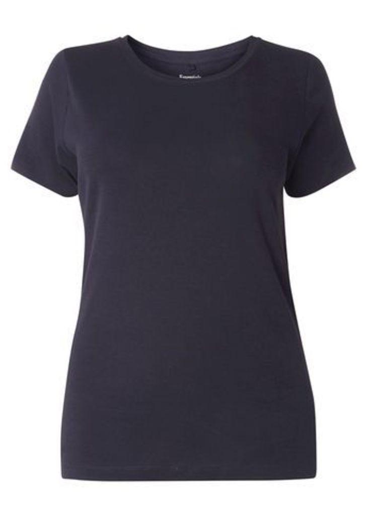 Navy Blue Basic T-Shirt, Navy