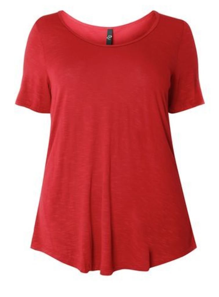 Red Short Sleeve T-Shirt, Red