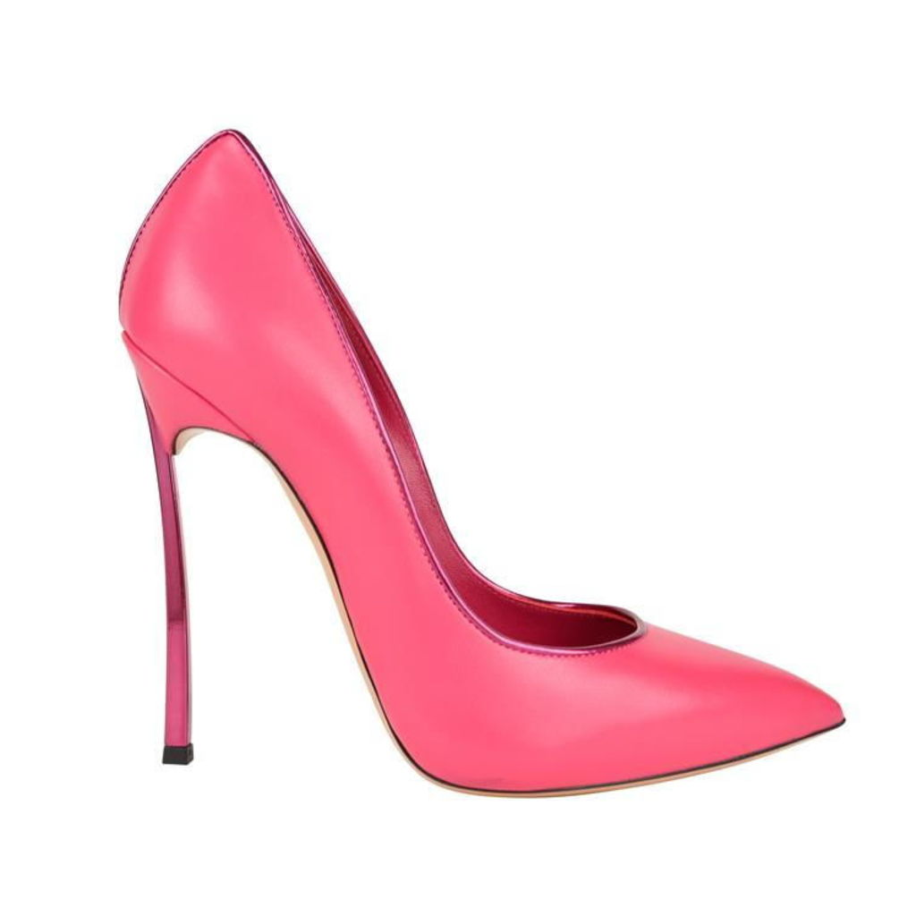 CASADEI Leather Blade Court Shoes
