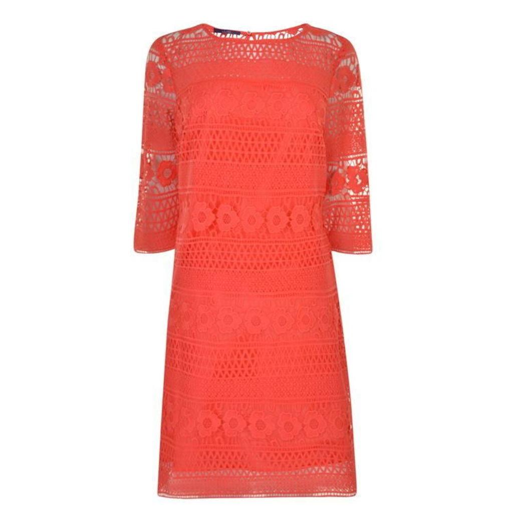 LAUREL Floral Lace Dress